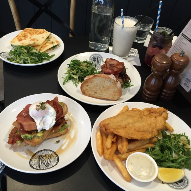 Comfort Food Wedding Menu: Jamaica Blue Myer Centre Adelaide